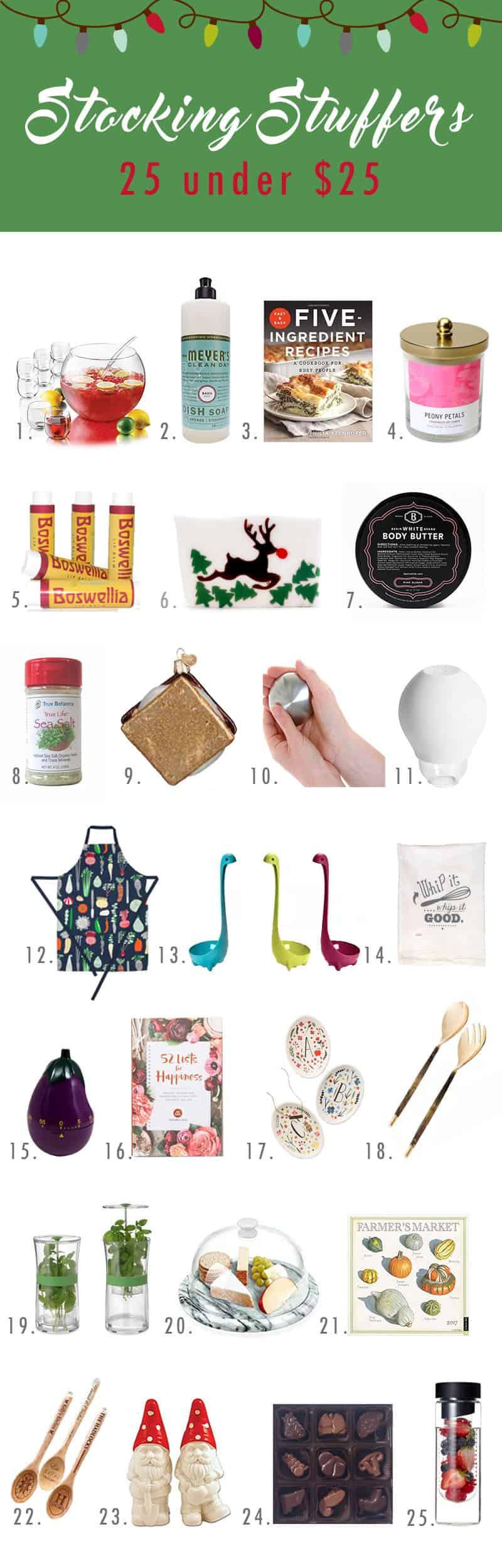 The best stocking stuffers under $25