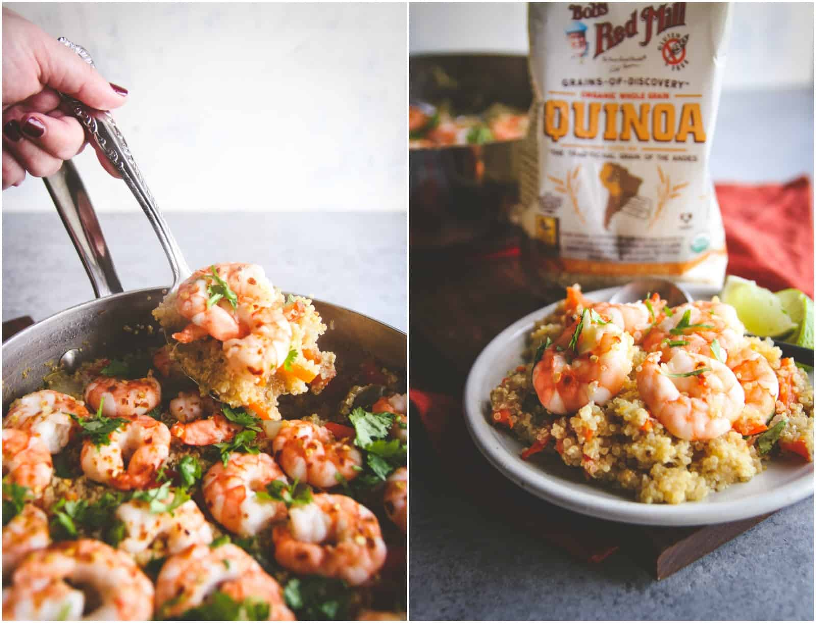 The best healthy quinoa and shrimp recipe