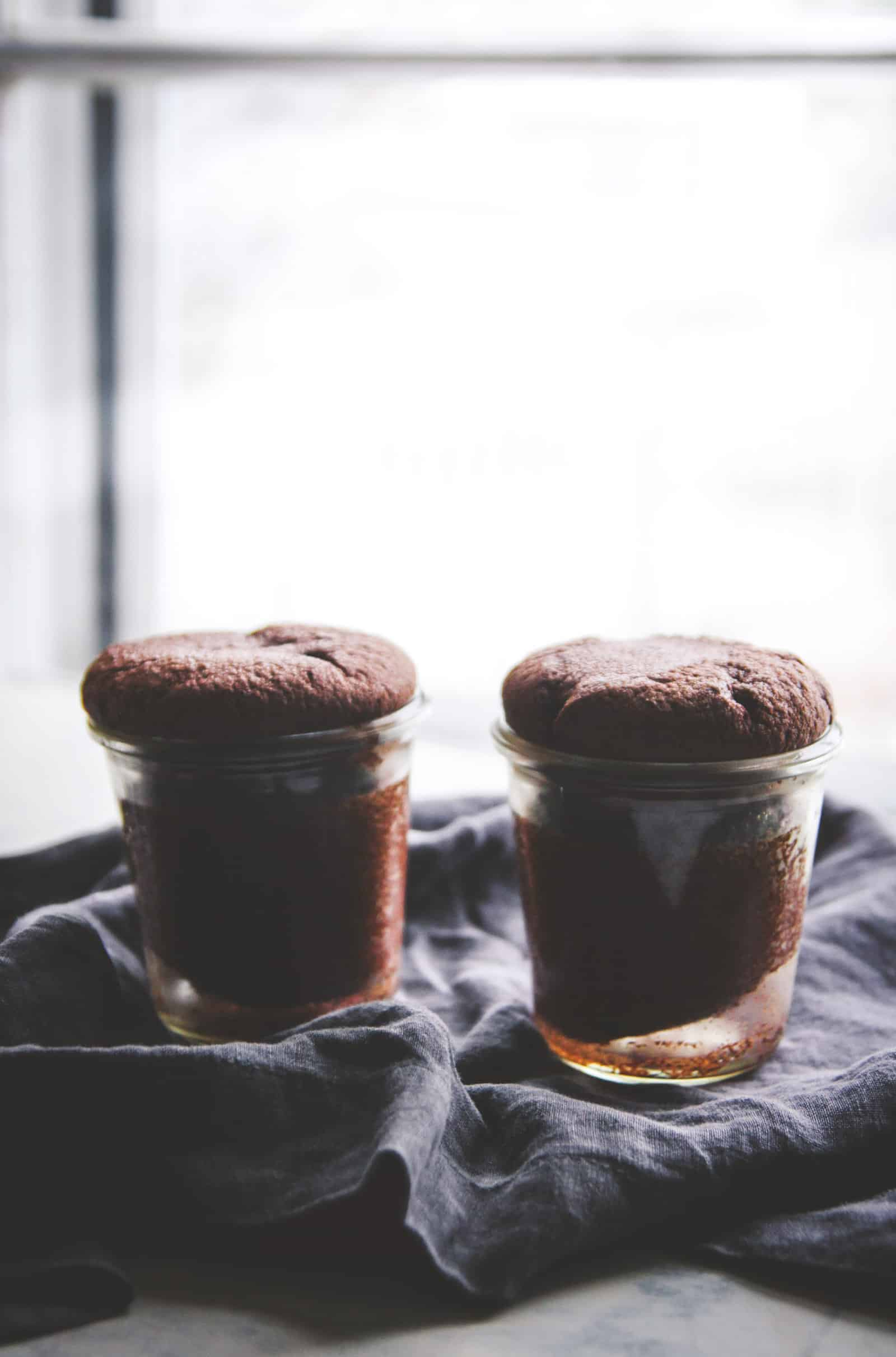The best chocolate cake in a jar