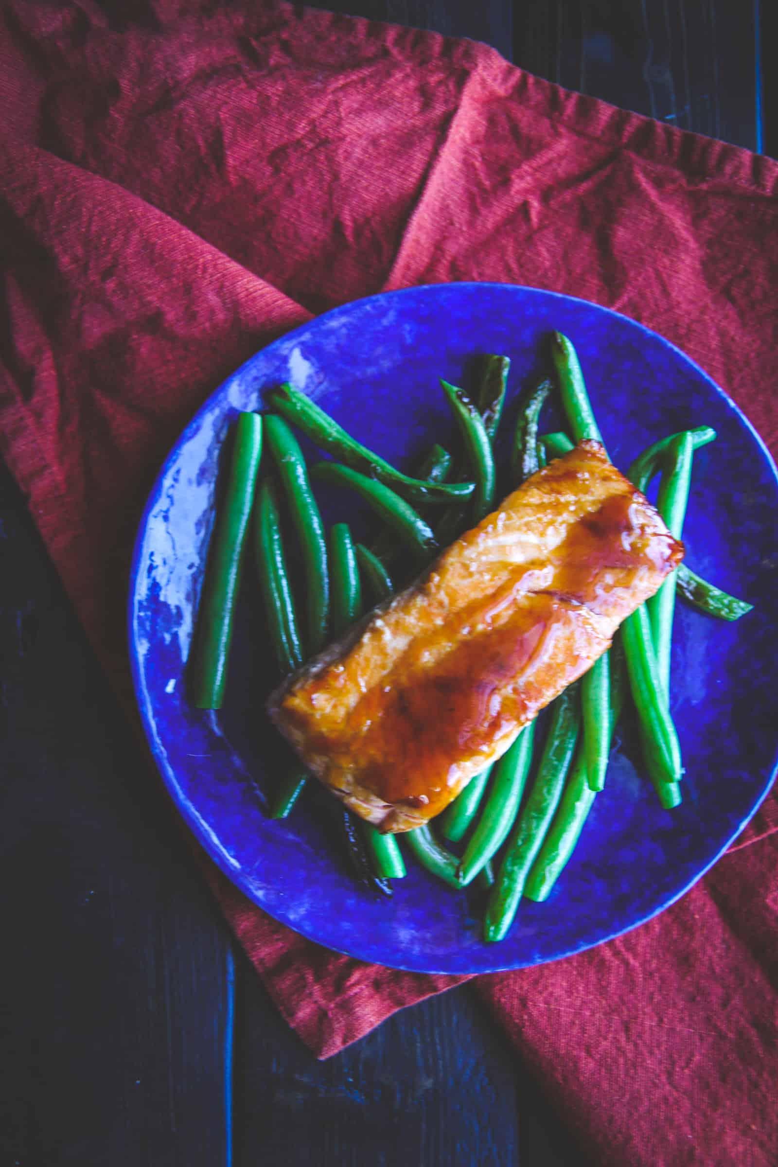 The best recipe for ginger teriyaki salmon