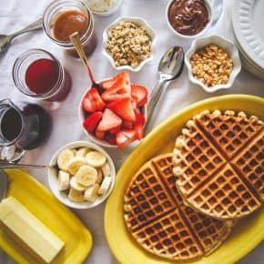 How to make a waffle bar