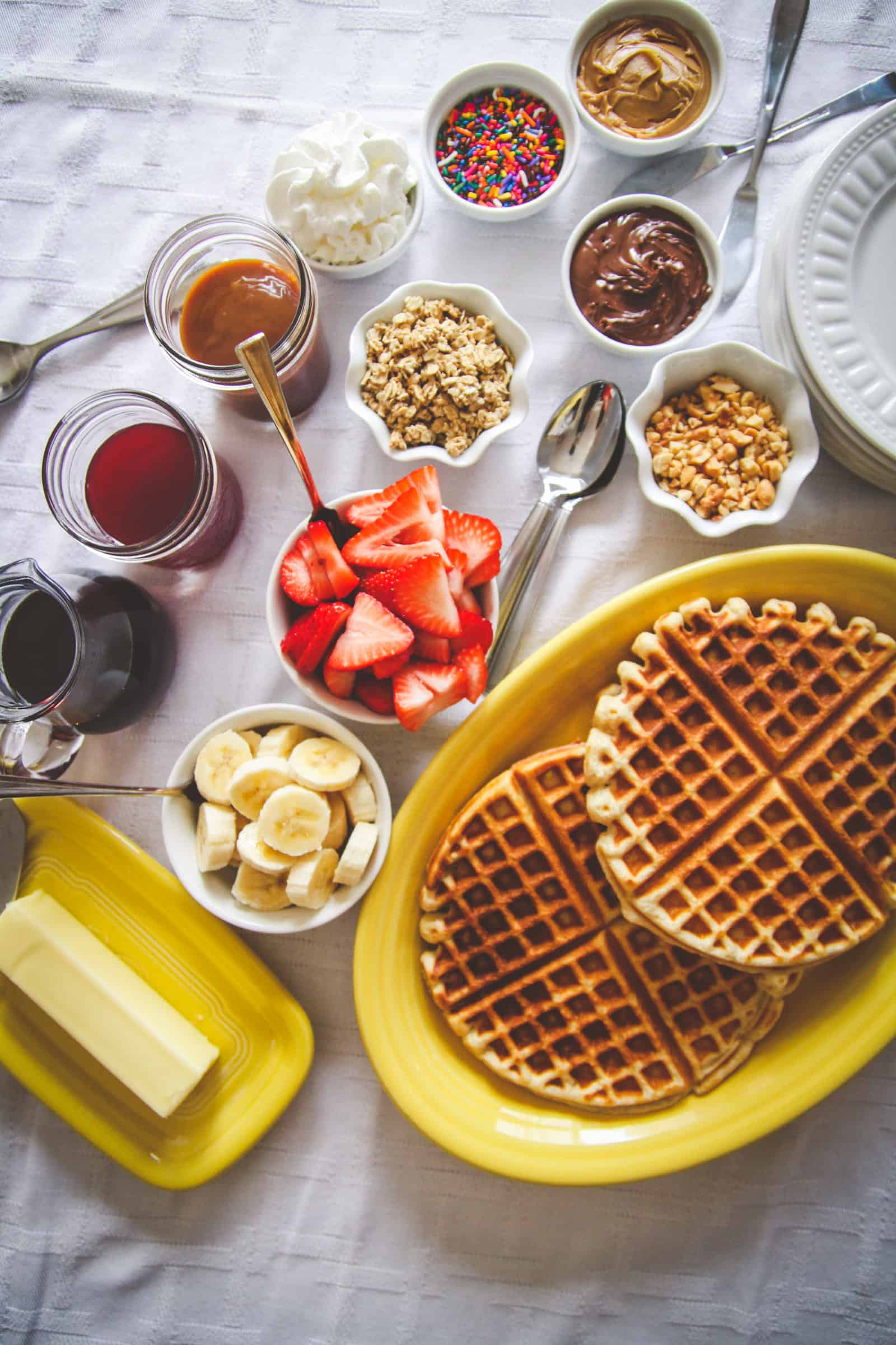 How to make the best waffle bar for brunch