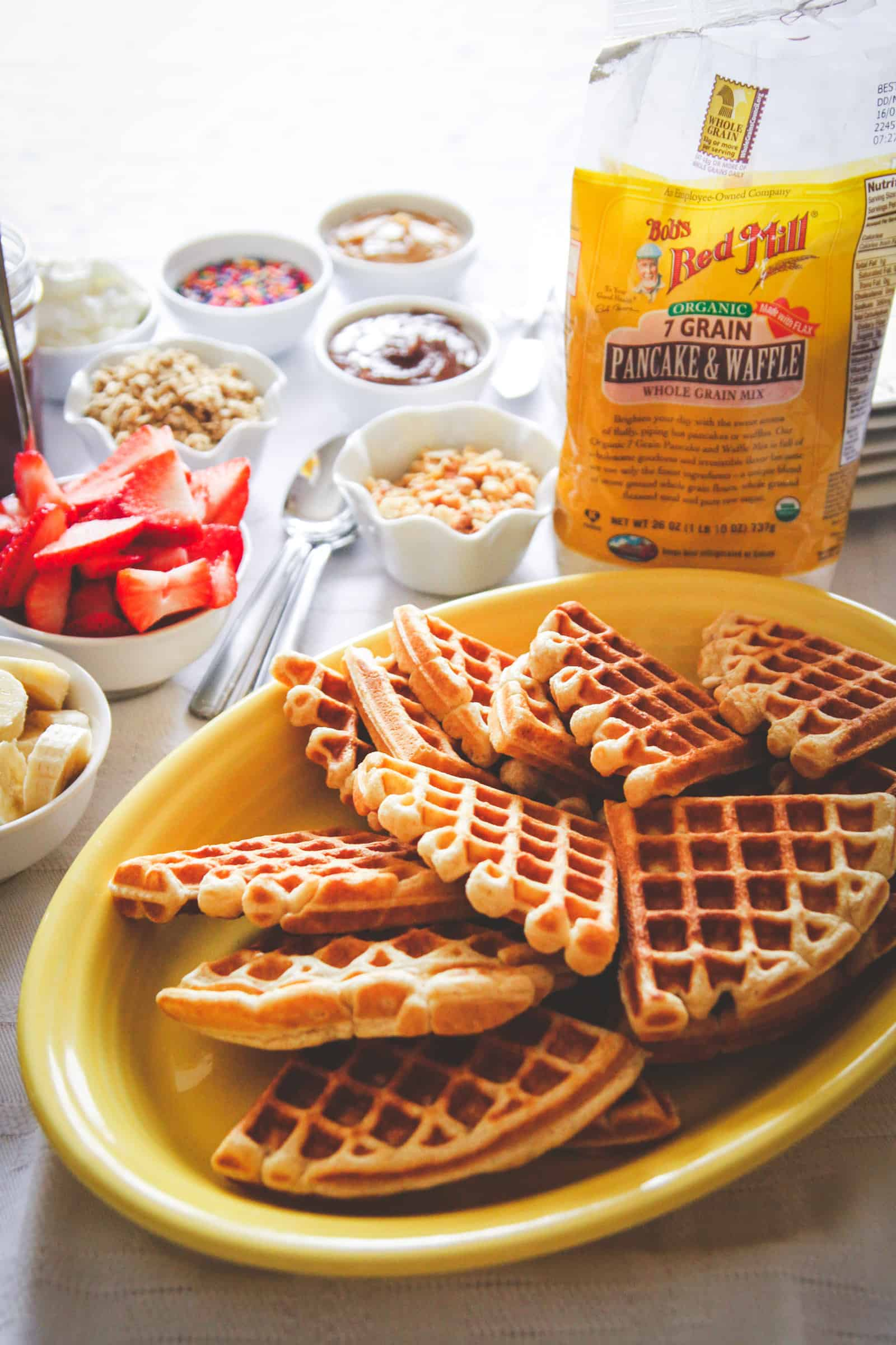 The best waffle bar for breakfast or brunch