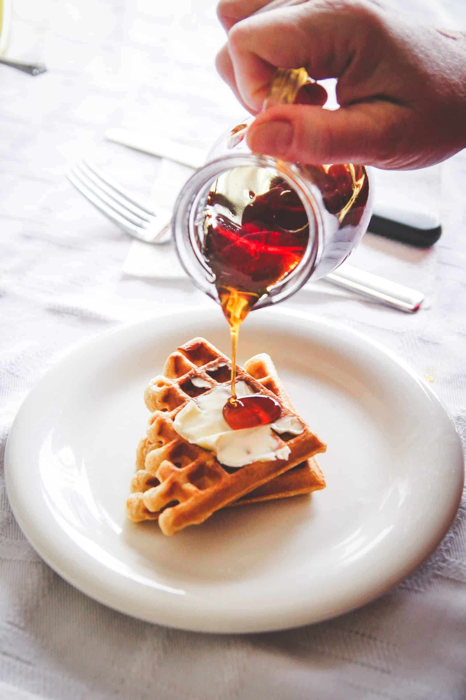 The best brunch with a waffle bar