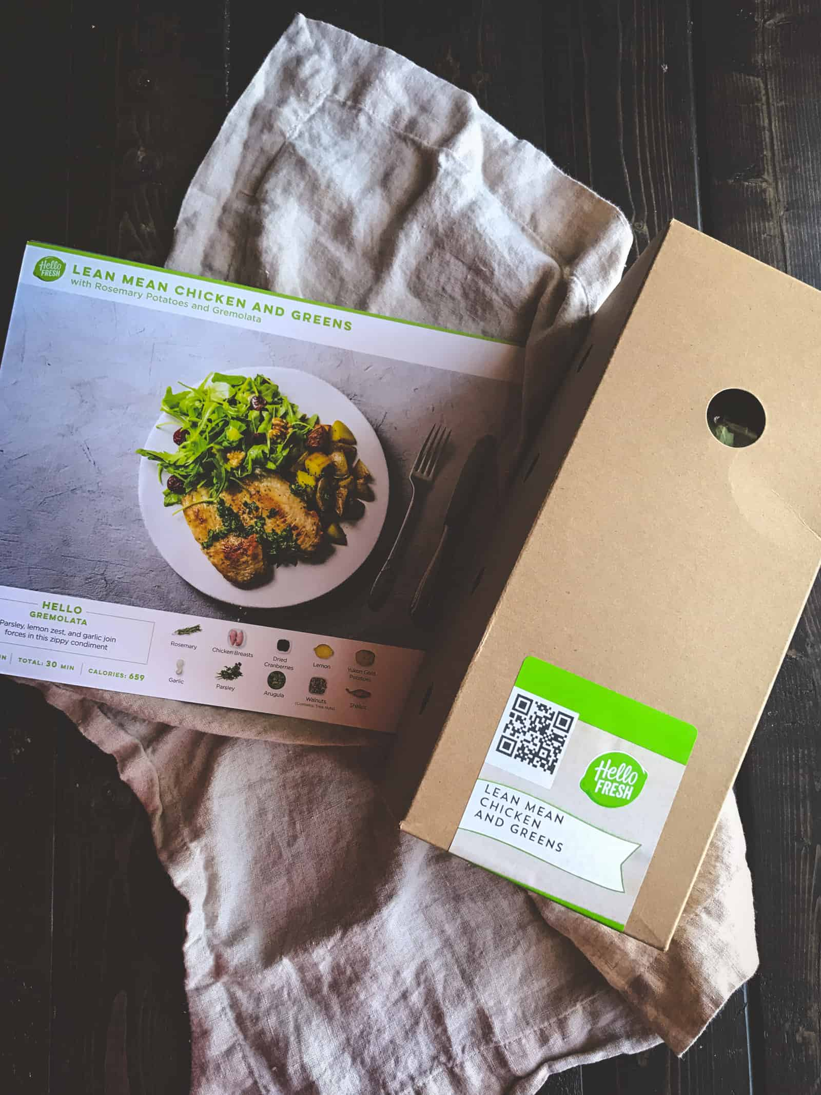 Hello Fresh meal delivery service review