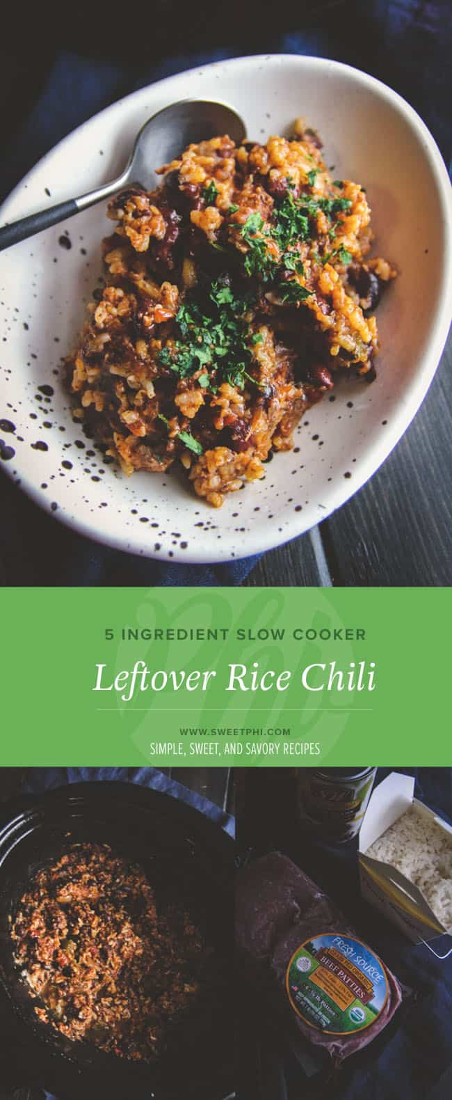 How to make the best leftover rice chili