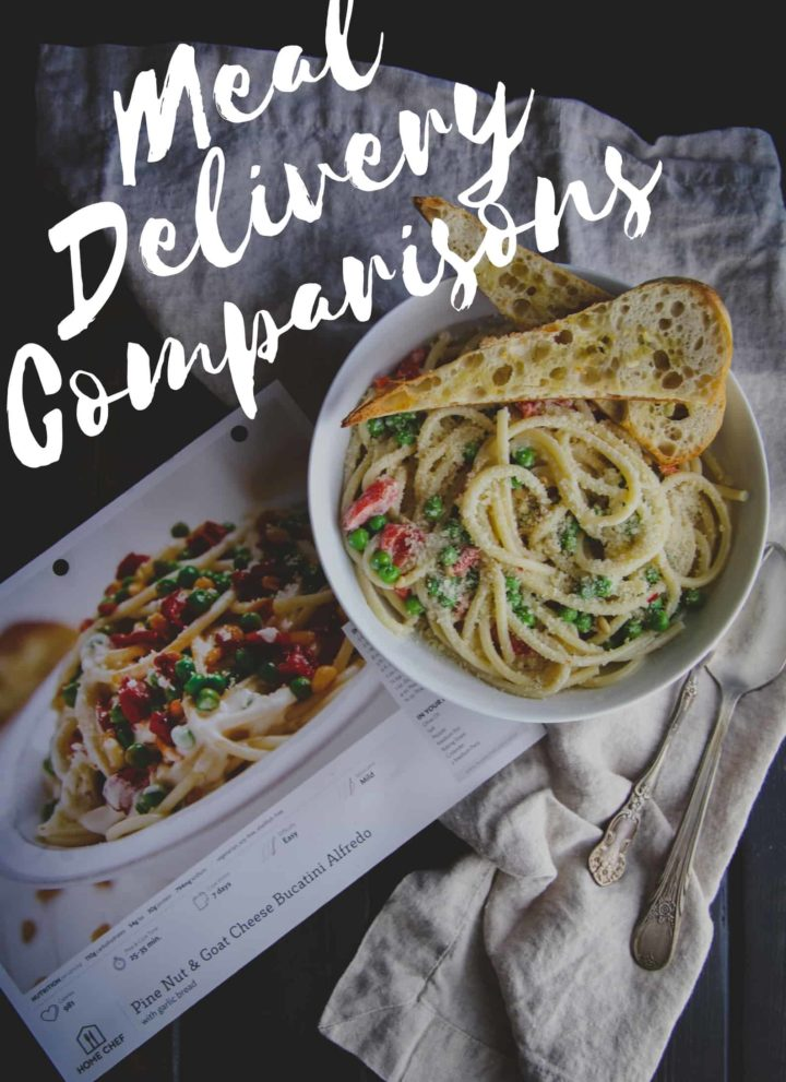 Home meal delivery service comparisons