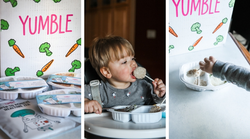 Yumble kids meal delivery service review