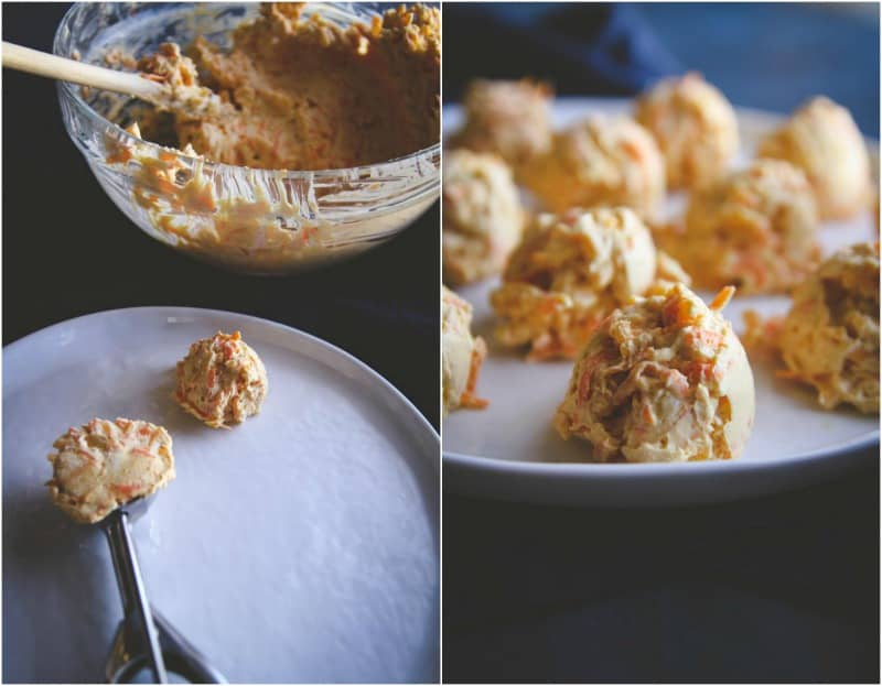 How to make the best mini cheddar carrot cheese balls