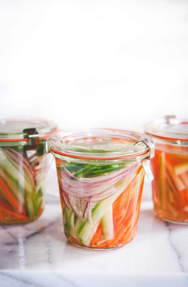 How to make the best quick pickled vegetables
