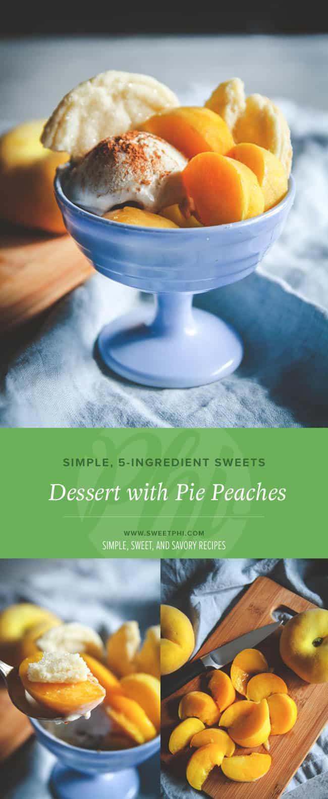 The best dessert recipe with pie peaches