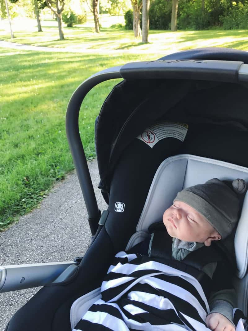 Nuna Tavo baby stroller - the best baby car seat and stroller