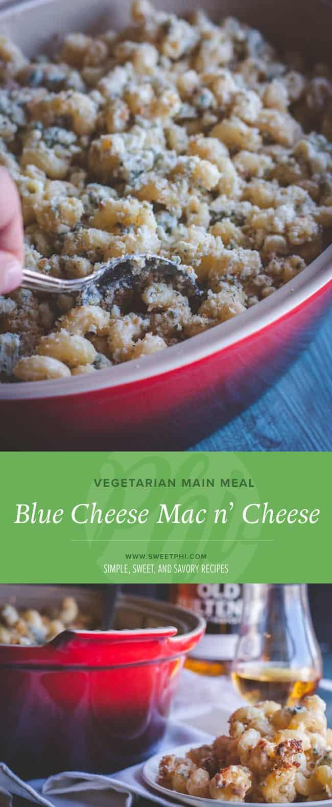 The best vegetarian blue cheese mac n' cheese