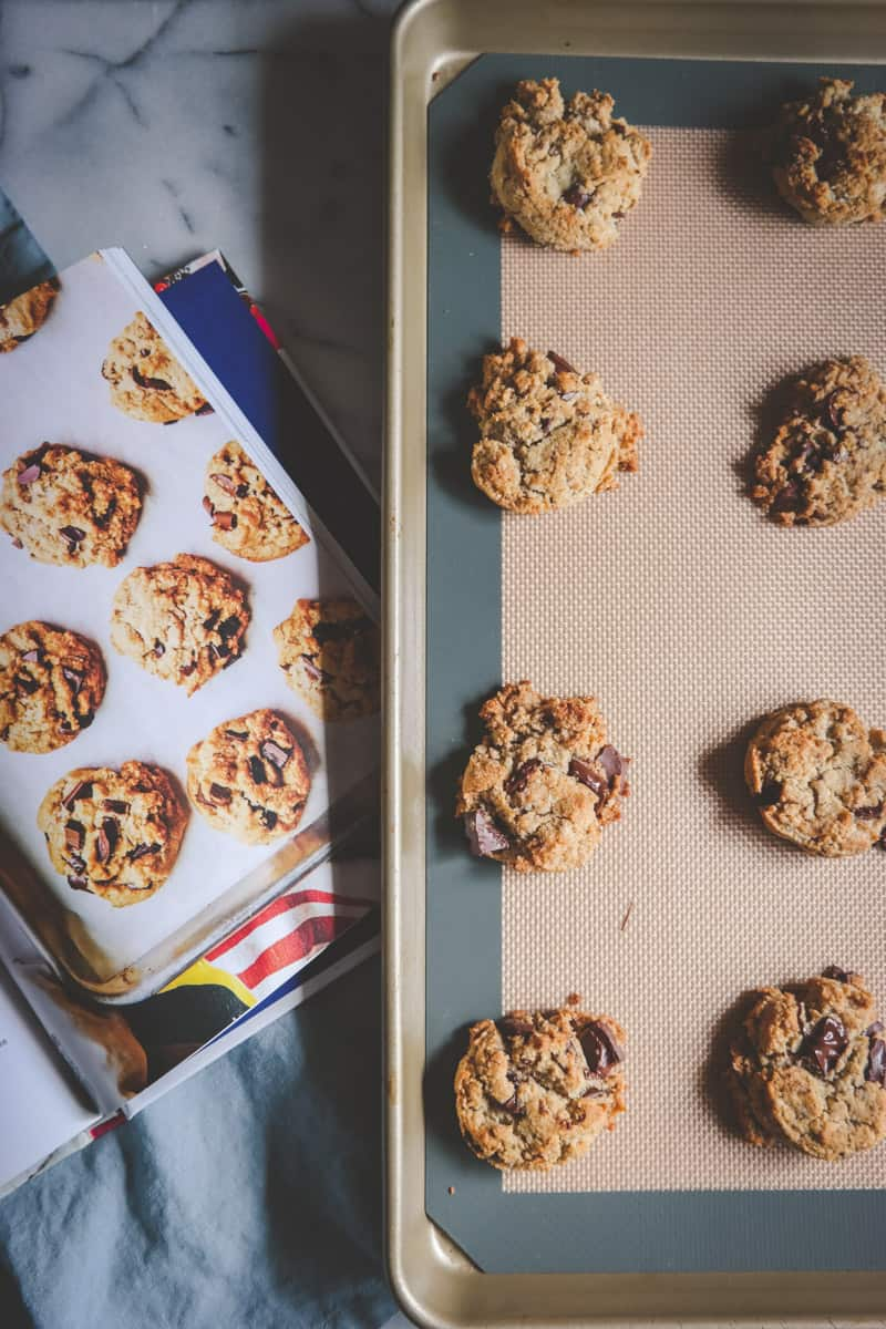 Chocolate Chunk Cookies from One Part Plant Cookbook