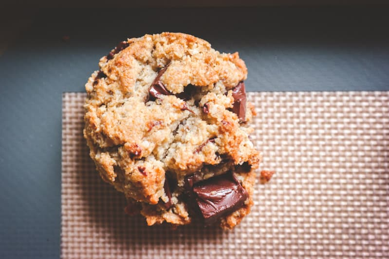 The best ever vegan and gluten free chocolate chunk cookies