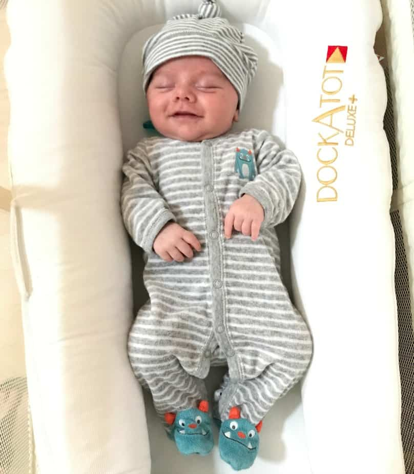 Baby in a dockatot