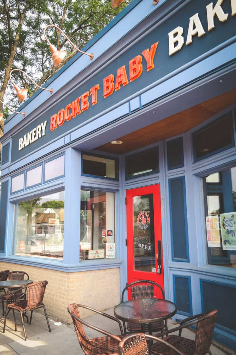 Rocket baby bakery brunch in Milwaukee