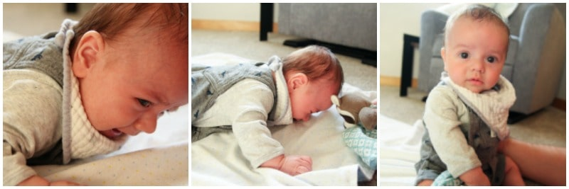 Baby hating tummy time