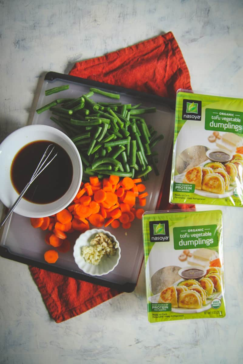 How to make the best vegetarian dumpling stir fry