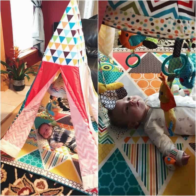 Baby tent play pen