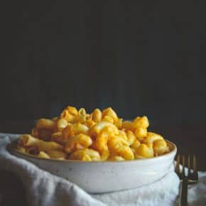 5 ingredient vegan mac and cheese