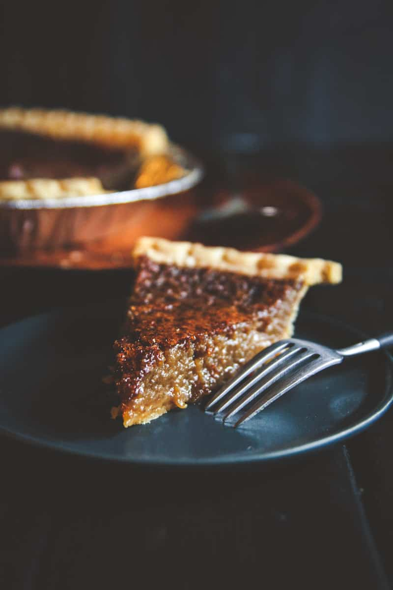 Easy and delicious brown sugar pie