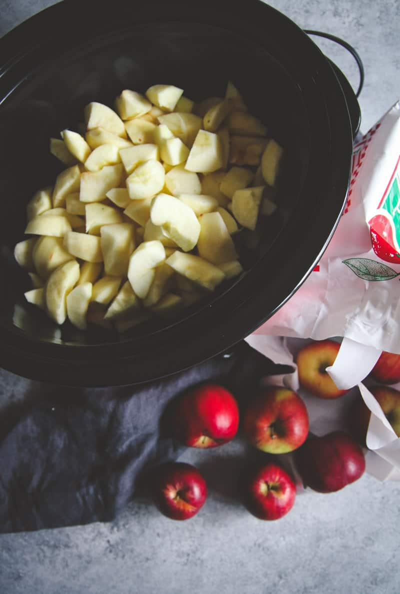 How to make the best slow cooker apple butter
