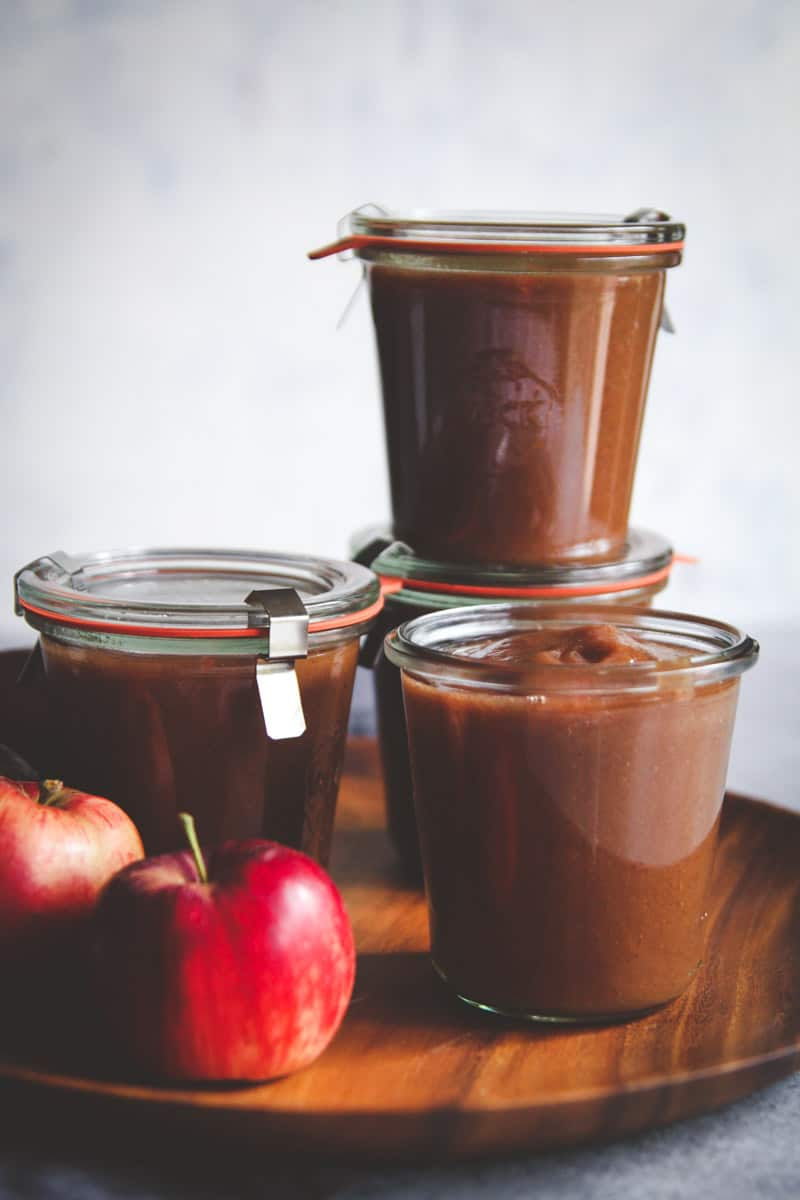 The best and easy apple butter recipe made in a crockpot
