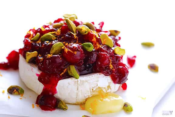 The most delicious cranberry pistachio baked brie recipe