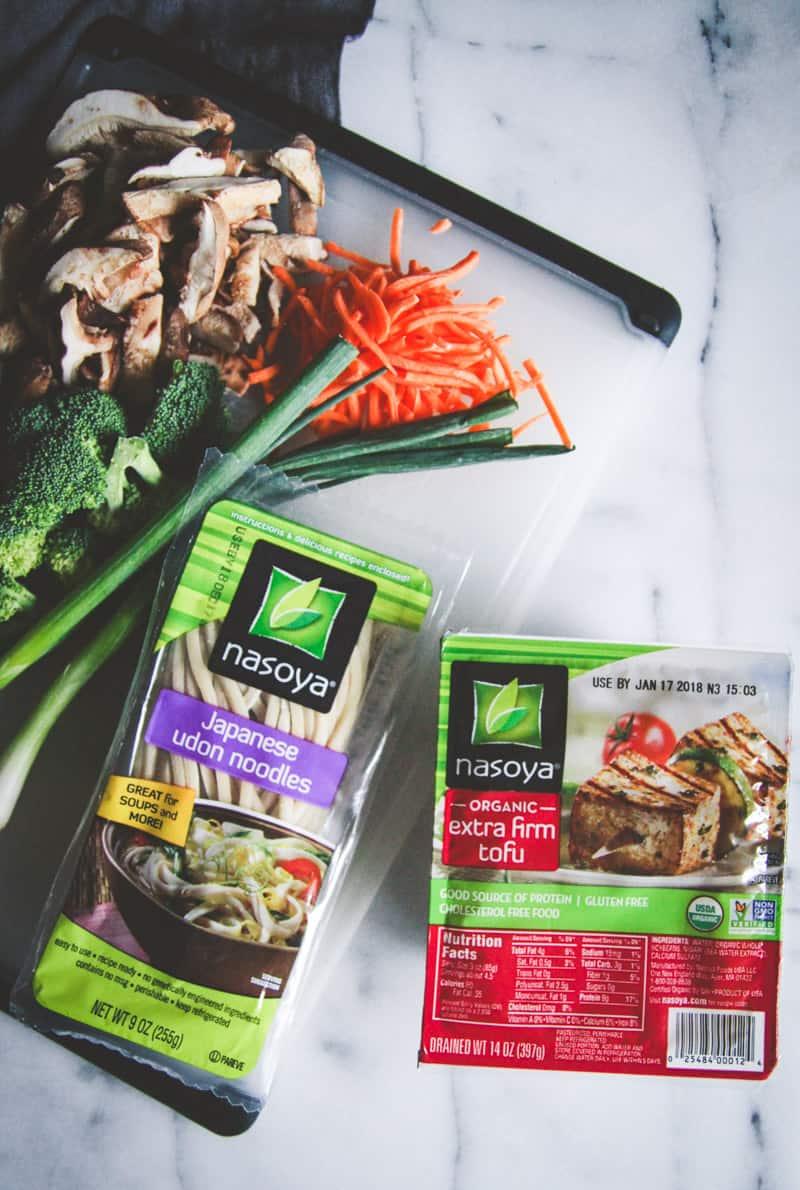 The best vegetarian ingredients to make Japanese pan noodles