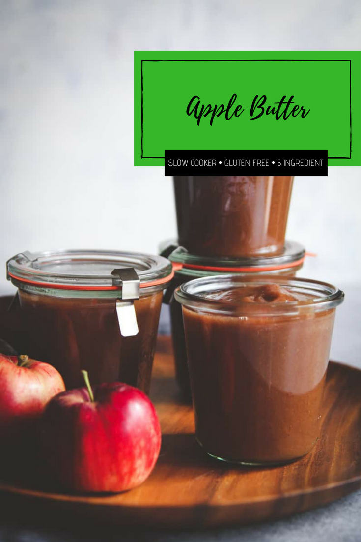 The best gluten free apple butter made in a slow cooker