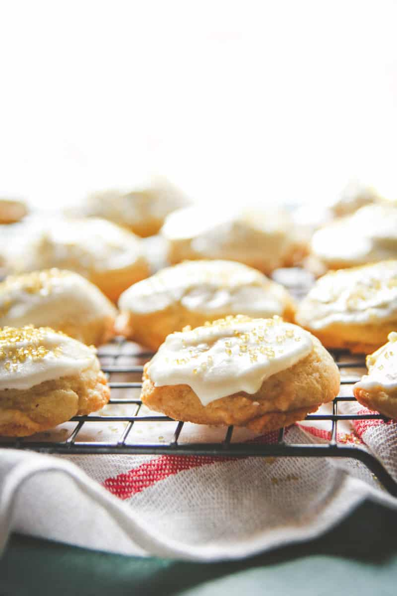 The most delicious eggnog Christmas cookies recipe