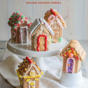 Graham Cracker Houses and Peanut Butter Chocolate Chip Graham Cracker Cookies