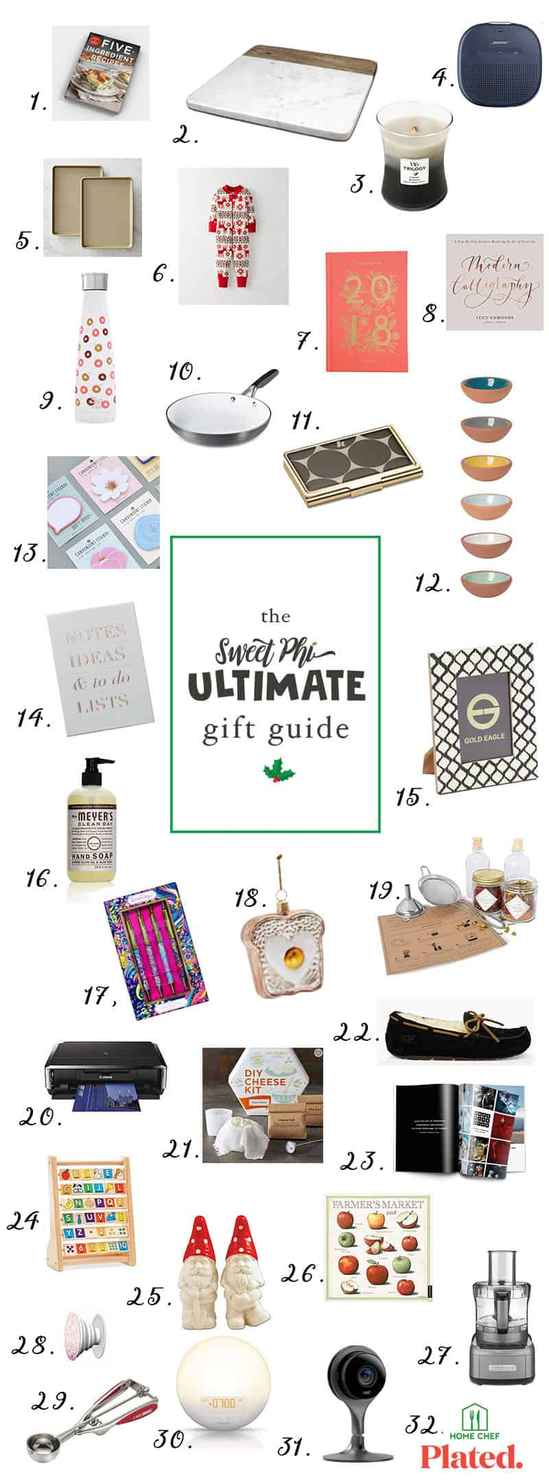 SweetPhi's Ultimate Gift Guide for everyone on your list!