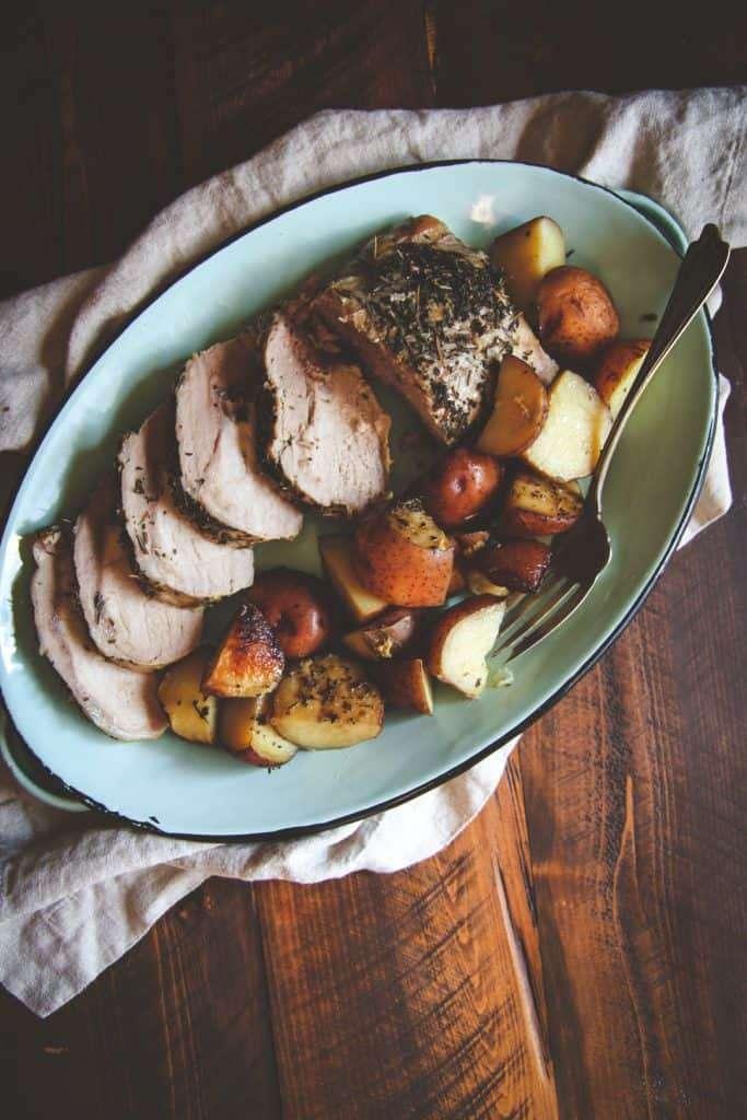 5 Ingredient Crock Pot Pork Roast And Potatoes Recipe Sweetphi