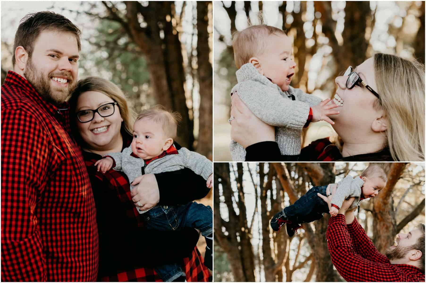 6 month baby winter photos - Philia Kelnhofer