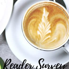 Reader Survey and $100 Giveaway!