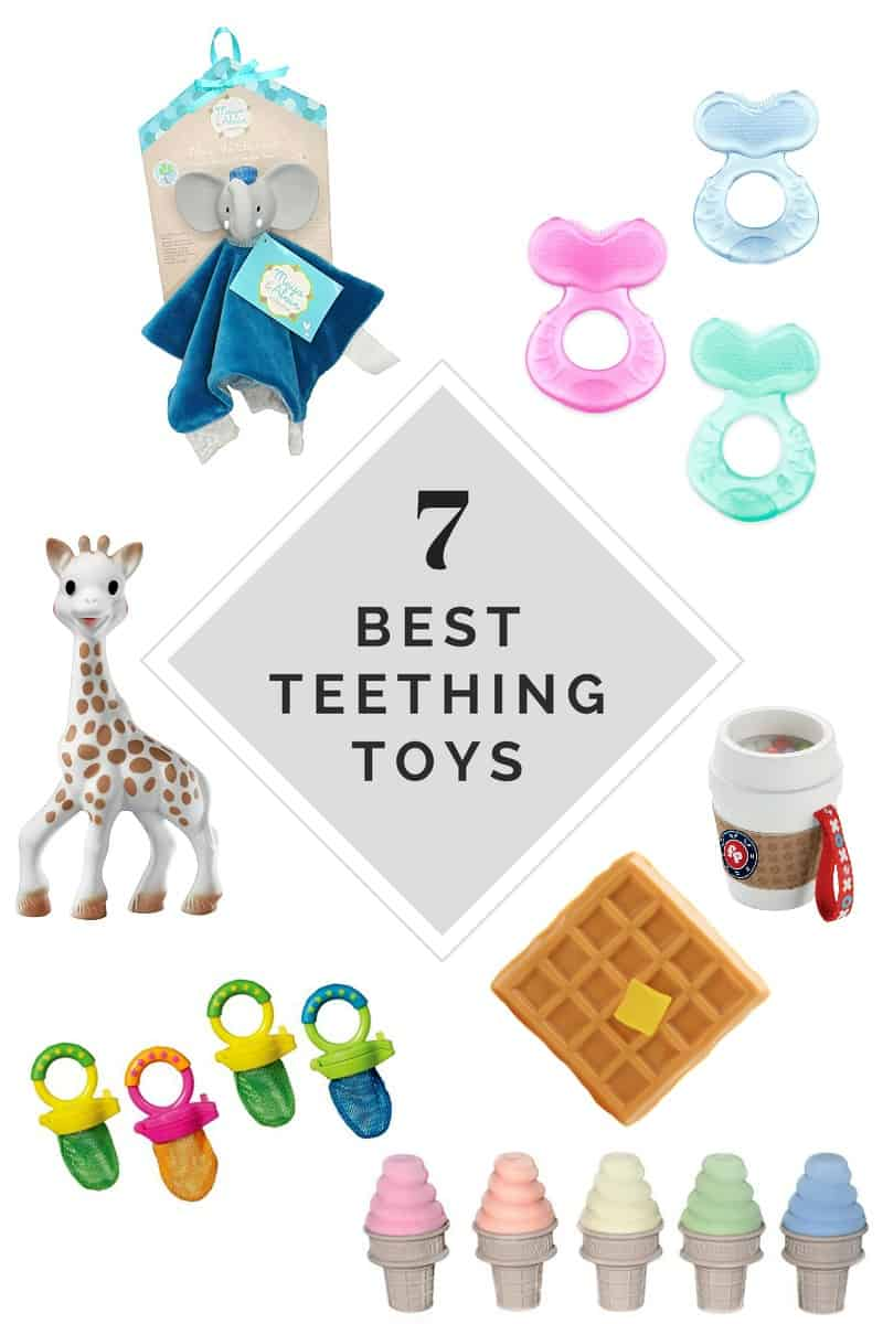 7 Of The Best Teething Toys For Babies Sweetphi