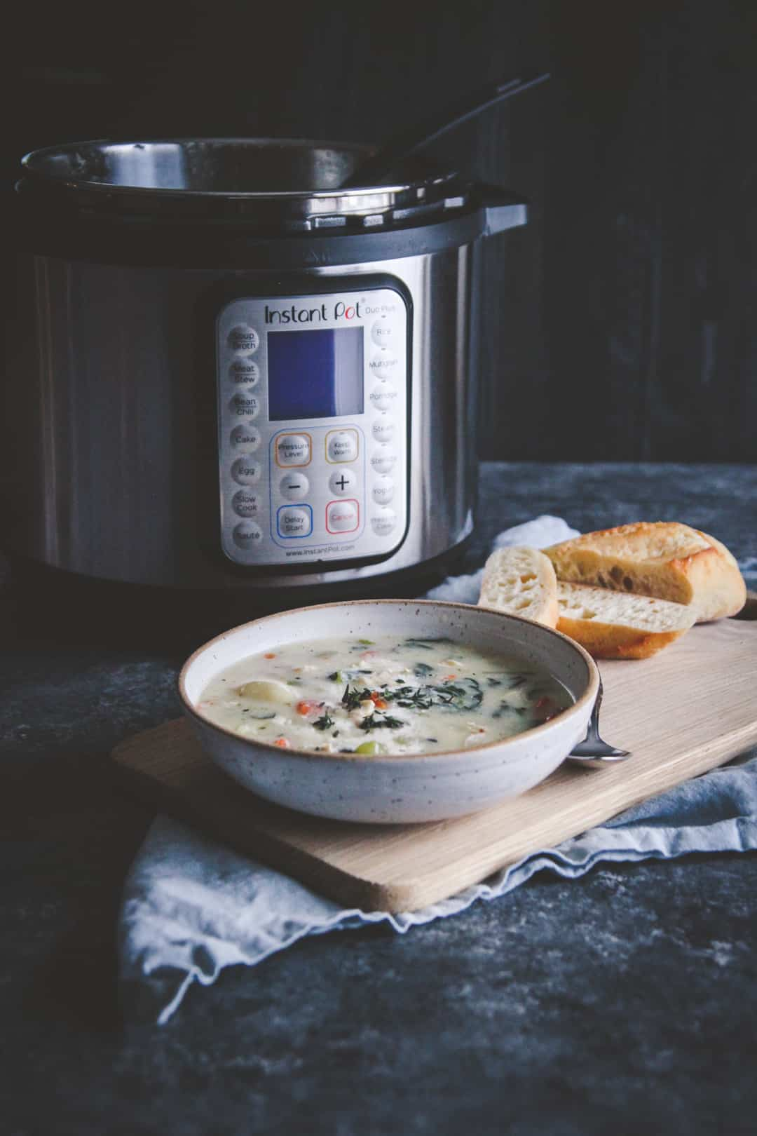 The best healthy creamy chicken gnocchi soup