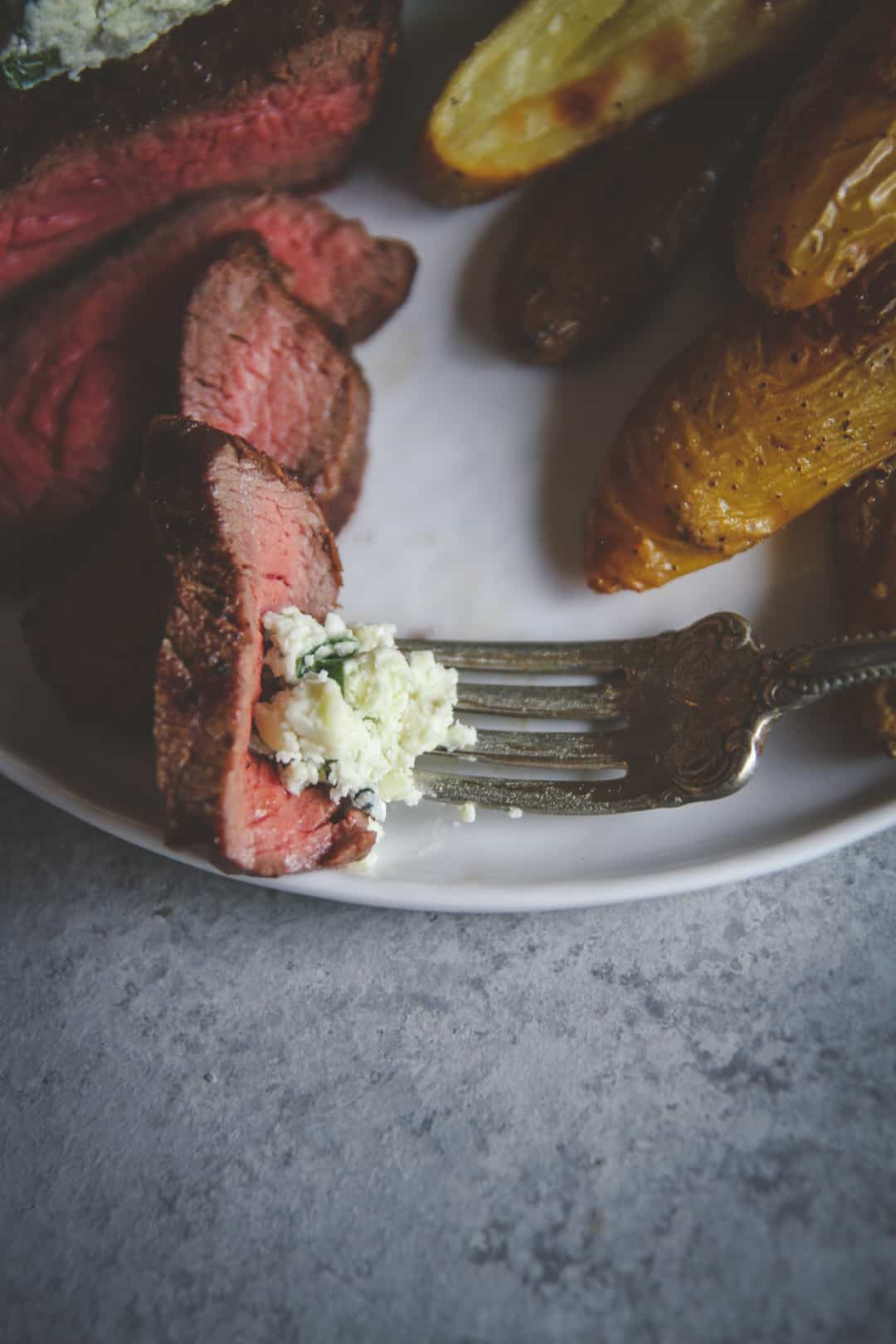 The best steak with blue cheese compound butter from Home Chef meal delivery service
