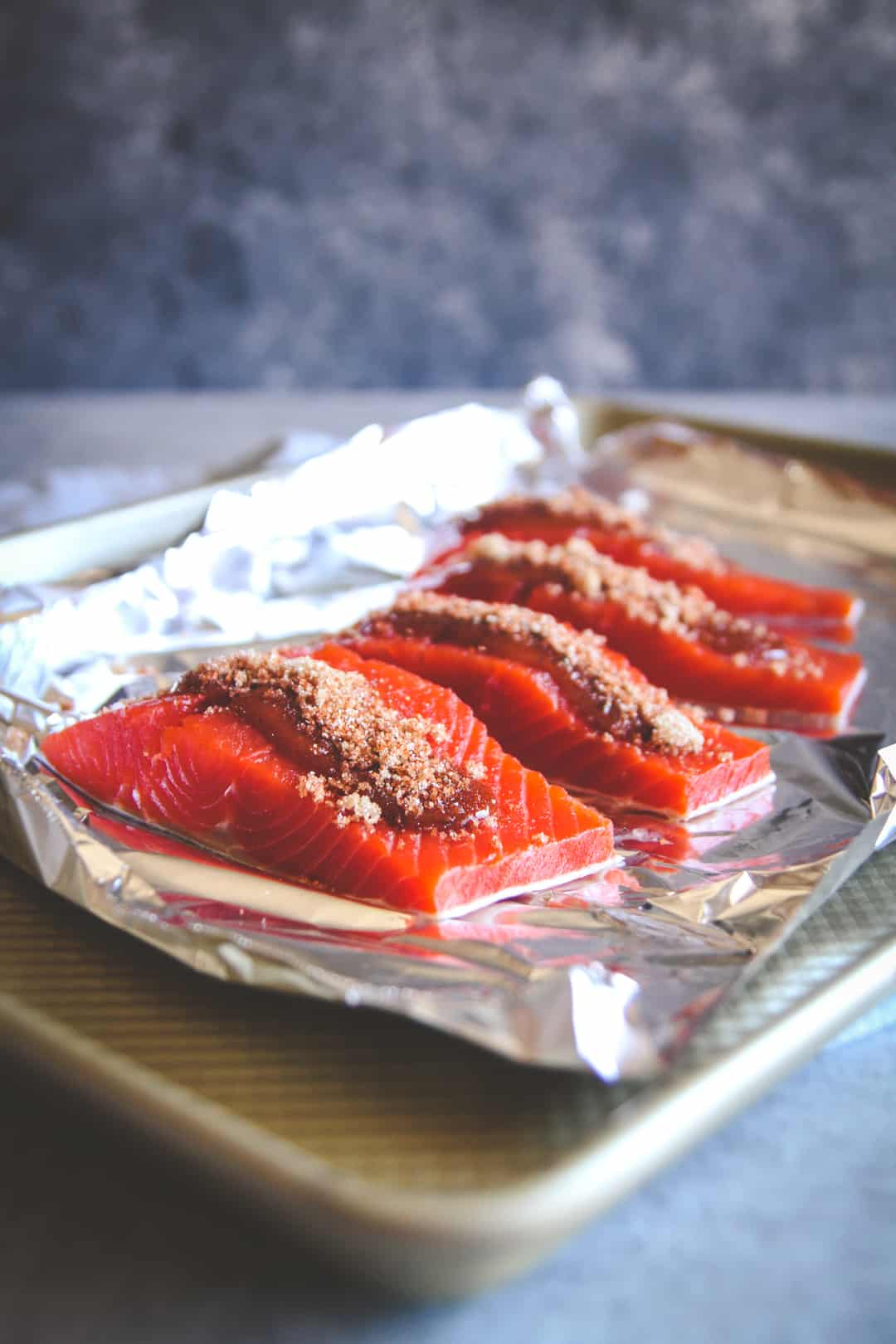 The most amazing baked BBQ salmon