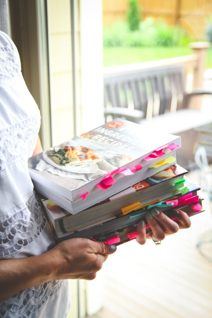 Cookbooks for meal planning