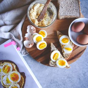 Meal Prep Breakfast: Miso Butter & Egg Toast