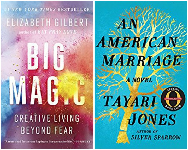 Big Magic and An American Marriage book recommendations