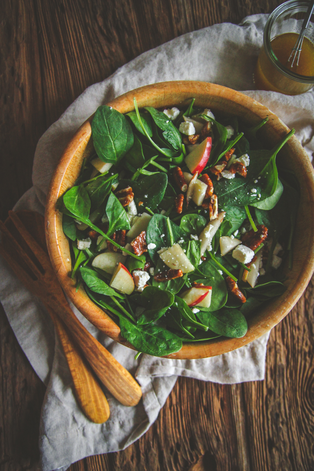 Spinach Salad And Dressing Recipe Sweetphi