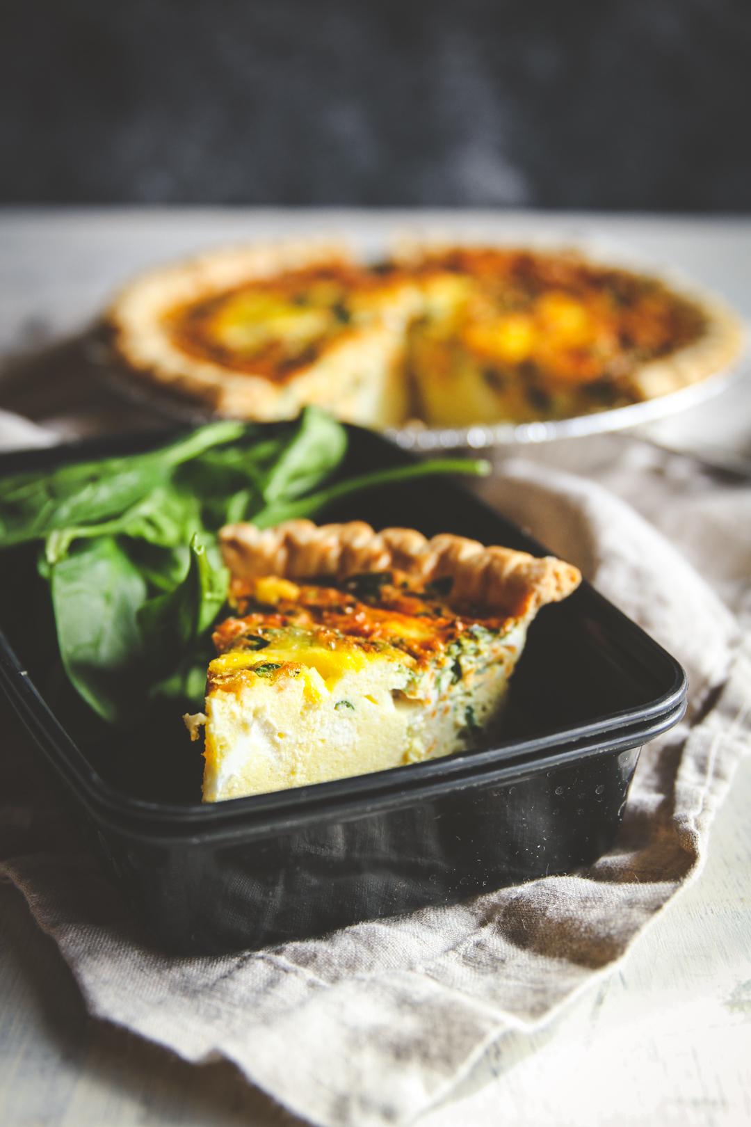 Make Ahead Freezer Meals Quiche Recipe Sweetphi