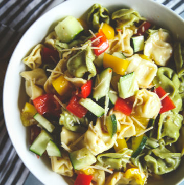 Best 5 ingredient tortellini pasta salad recipe