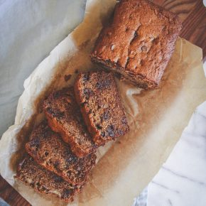 Whole Wheat Banana Bread + Muffins Recipe
