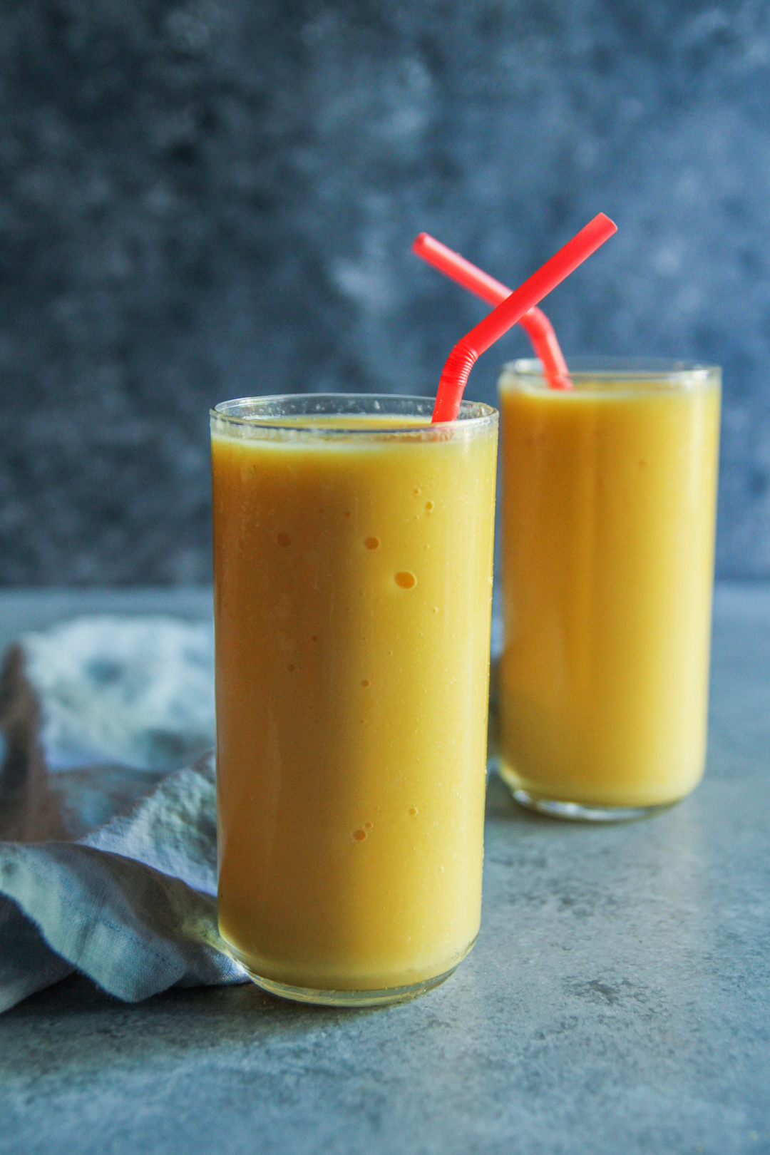 Vitamin C Boost Smoothie Recipe {Orange Mango Pineapple Smoothie