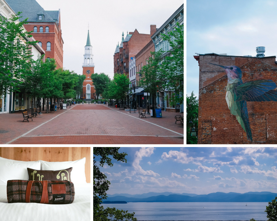 Burlington Vermont weekend travel guide - what to see, what to do, what to eat in Burlintgon